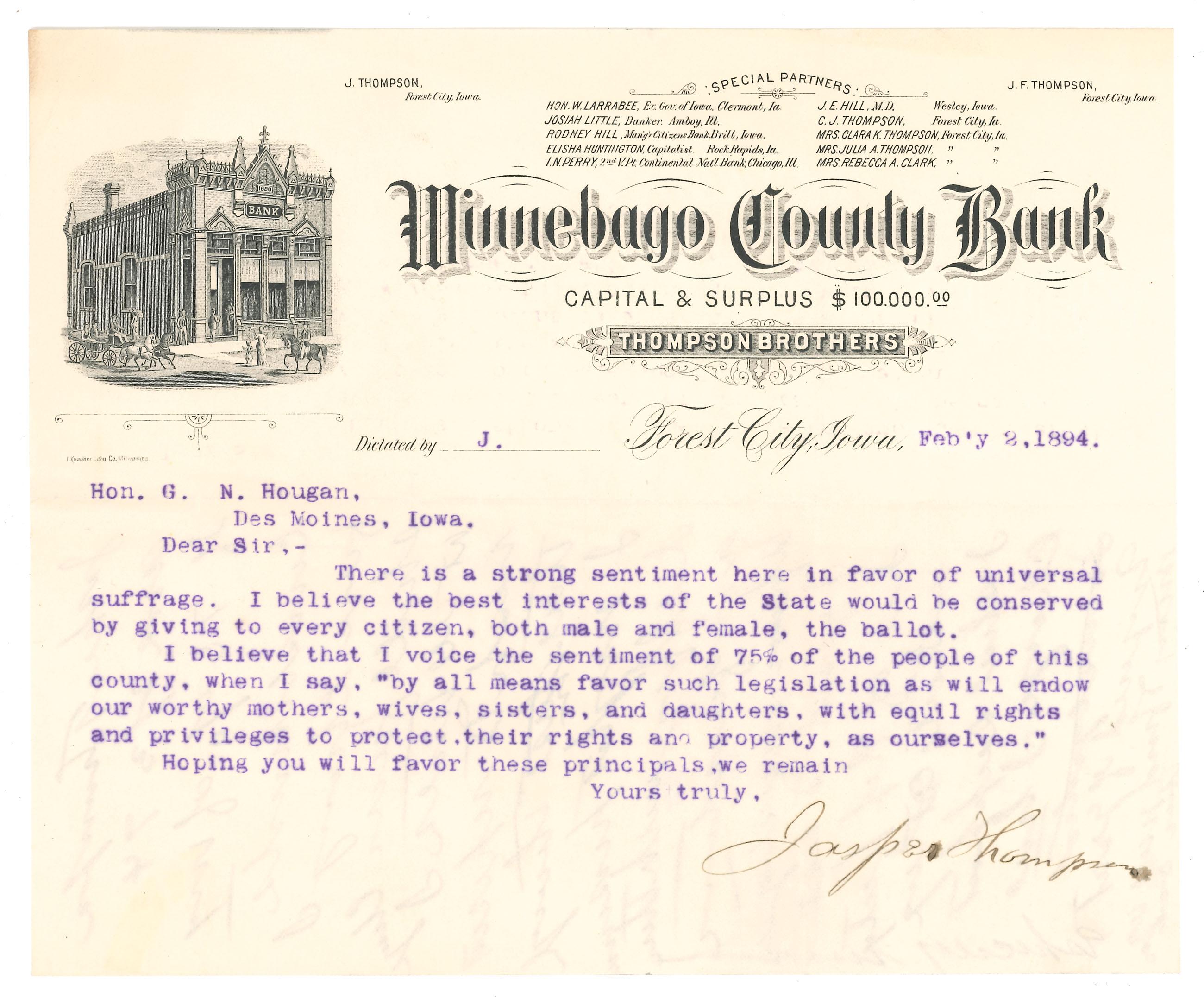 Gilbert Haugen correspondence