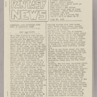 Fantasy News, v. 3, issue 5, whole 57, July 23, 1939
