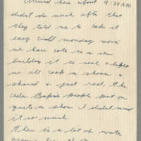 Laura Davis letters from her husband, July-September 1942