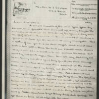 1945-02-01 John W. Graham to Mr. & Mrs. W.J. Graham Page 1