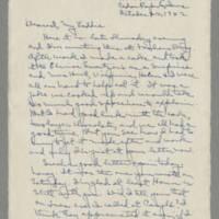 1942-10-22 Laura Davis to Lloyd Davis Page 1