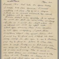 1942-11-10 Lloyd Davis to Laura Davis Page 1