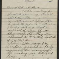 1918-03-31 Thomas Messenger to Mr. & Mrs. N.H. Messenger Page 1