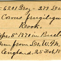 Clinton Mellen Jones, egg card # 524