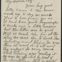 1918-12-04 John Reynolds to Conger Reynolds Page 1
