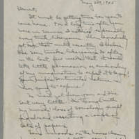 Laura Davis letters to her husband Lloyd Davis, 1945