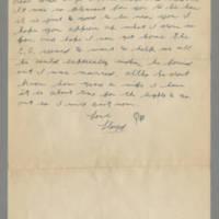 1942-11-25 Lloyd Davis to Laura Davis Page 2