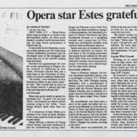 "1985-06-02 """"Opera star Estes grateful for sports"""""