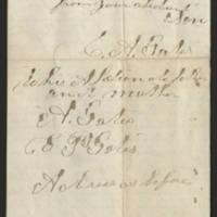 1861-12-18 Charles A. Gates to Mr. & Mrs. Arad Gates Page 7