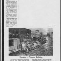 "1970-05-09 Iowa City Press-Citizen Article: """"Guard Called; Building Burns"""" Page 4"
