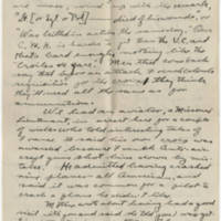 1919-02-19 Robert M. Browning to Dr. Mabel C. Williams Page 2