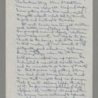 1942-10-24 Laura Davis to Lloyd Davis Page 2