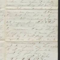 1863-07-21 Charles A. Gates to Mr. Arad Gates Page 3