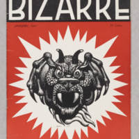 Bizarre, v. 4, issue 1, Janurary 1941