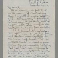1943-11-25 Laura Davis to Lloyd Davis Page 1