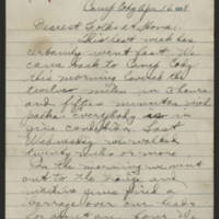 1918-04-16 Thomas Messenger to Mr. & Mrs. N.H. Messenger Page 1
