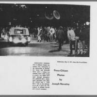 "1971-05-12 Iowa City Press-Citizen Photo: """"Ambulance Summoned"""""