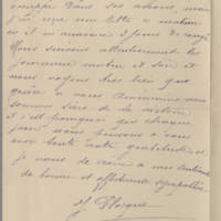 1918-10-31 Letter from J. Plocque Page 4