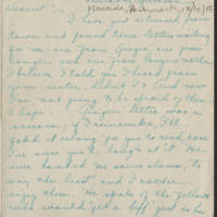 1917-12-20 Daphne Goodenough to Conger Reynolds Page 1