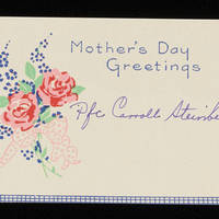 Mother's Day card Page 1