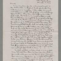 1942-12-15 Laura Davis to Lloyd Davis Page 1