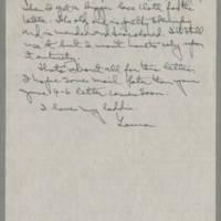 1945-07-23 Laura Davis to Lloyd Davis Page 4