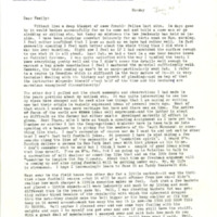Nile Kinnick correspondence, January-December 1941