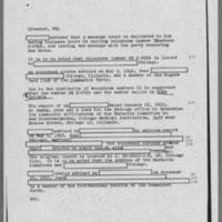 1952-05-29 Special Agent in Charge, Chicago Field Office, Report to Director, FBI Page 2