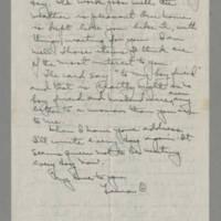 1943-09-25 Laura Davis to Lloyd Davis Page 2