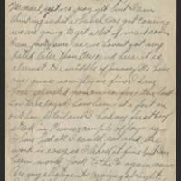 1918-01-13 Harvey Wertz to Mr. L.A. Wertz Page 1