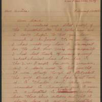 1945-02-13 Keith Hunsaker, Sr. to Dave Elder Page 1