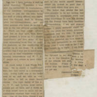 "1918-03-12 Clipping: """"Letters From Our Soldiers"""" by Conger Reynolds"