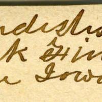 Clinton Mellen Jones, egg card # 485