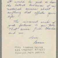 1943-04-05 Bessie Rector to Laura Frances Davis Page 4