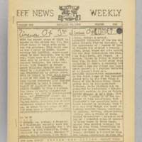 F.F.F. News Weekly, v. 1, issue 6, November 30, 1940