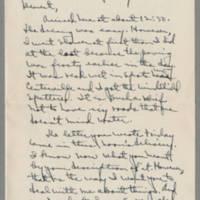 1942-01-12 Laura Davis to Lloyd Davis Page 1