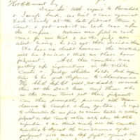 Correspondence with Edmonds and Ransom about court cases in Iowa, 1865-1870