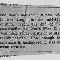 "1952-04-21 Des Moines Register Article: ""Both North and South Showing More Sense On Race Matters"" Page 2"