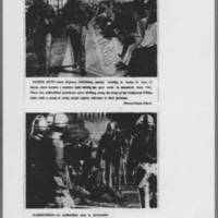 "1972-05-13 Iowa City Press-Citizen Photos: """"Patrol Duty"""" & """"Surrender"""""