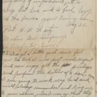 1918-08-21 Harvey Wertz to Mr. L.A. Wertz Page 4