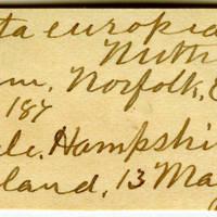 Clinton Mellen Jones, egg card # 628