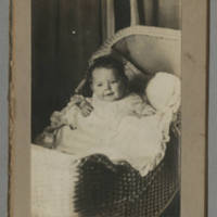 Jack L. Hyde in bassinet