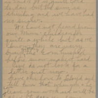1945-11-22 Letter to Laura Frances Davis Page 3