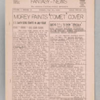 Fantasy-News, v. 6, issue 18, whole no. 150, May 18, 1941