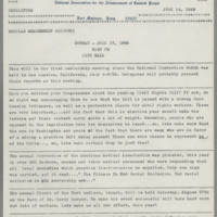 1966-07-14 NAACP Newsletter, Fort Madison Branch