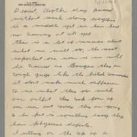 1942-10-22 Lloyd Davis to Laura Davis Page 1