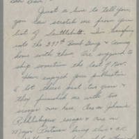 1945-10-27 M/Sgt. Arden Safnek to Dave Elder