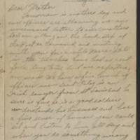 1918-05-11 Harvey Wertz to Mrs. L.A. Wertz Page 1
