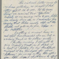 Correspondence to Pearl Hyde Page 1