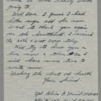 1945-06-02 Cpl. Alois J. Musil to Dave Elder Page 6